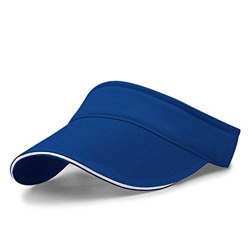 LiGG Unisex Visor Cap Sonnenhut Einstellbar Sommerhut mit Klettverschluss für Damen und Herren