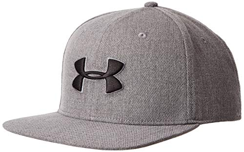 Under Armour Mens Huddle Snapback 2.0 Gorra, Hombre, Gris (Steel/Graphite/Black 035), Talla única