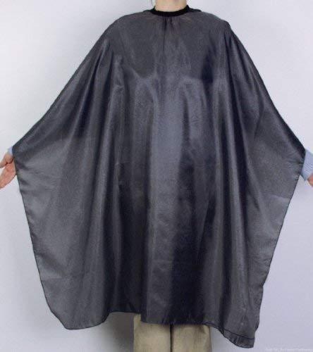 Coiffeur Professionnel Nevada Gris, env. 125 x 144 Cm, Polyester de haute qualité, antistatique, lavable, 41531