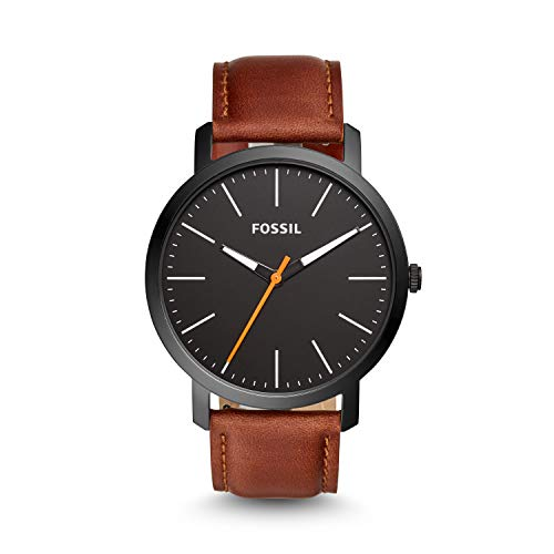 Fossil Analog Luther Black Dial's Men's Watch - BQ2310