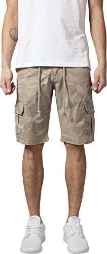 Urban Classics Herren Camo Cargo Shorts Mehrfarbig /sand camo 867