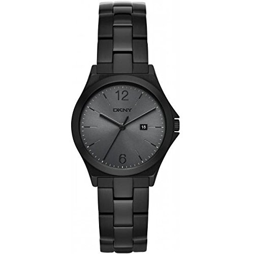 DKNY (DNKY5) Women's Quartz Watch with Grey Dial Analogue Display and Grey Stainless Steel Bracelet NY2369