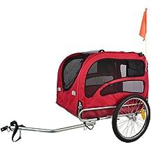 DOGGYHUT Remolque EXTRA GRANDE para perros Remolque de Bicicletas 60302-01