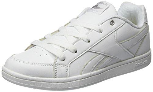 Reebok Royal Prime, Scarpe da Ginnastica Basse Bambina, Bianco (White/Silver), 38 EU