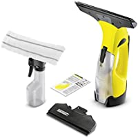 Kärcher Window Vac WV 5 Premium incl. accessories, window cleaner for windows, tiles, shower & cabinets, exchangeable battery