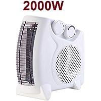 DED Calefactor eléctrico de Aire 2000W Radiador Estufa Casa Baño Vertical Horizontal