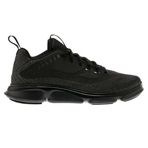 Nike Herren 854289-010 Basketball Turnschuhe, Black Schwarz-Anthrazit-Dunkelgrau, 44 EU (Schuhe Jordans Größe Herren 16)