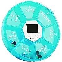 XIHAA Seven Grids Ringtone Edition Pill Box Reisequalität Lebensmittelqualität Kunststoff Blau und Grün,Green preisvergleich bei billige-tabletten.eu