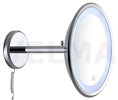 VELMA - LUXOR EASY TOUCH - LED1009 5x - Kosmetikspiegel mit Easy-Touch-On-Schaltung -...