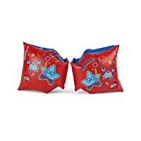 Speedo Unisex Adult 8-06946B408 Speedo Sea Squad Arm Bands, Red - Red, one size