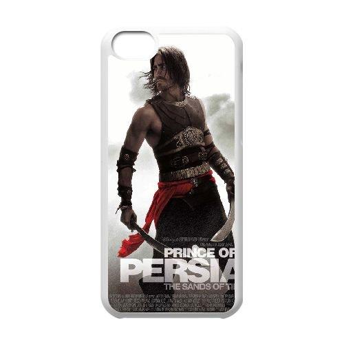 Dastan Prince Of Persia The Sands Of Time coque iPhone 5C Housse Blanc téléphone portable couverture de cas coque EBDXJKNBO14542