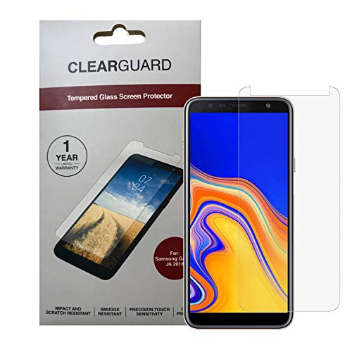 Zagg Samsung Galaxy J6 2018 Clearguard Tempered Glass Screen Protector