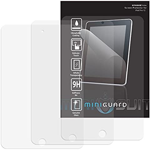 Apple iPad Pro Apple iPad Pro Protector de Pantalla HD Mate – MiniGuard Apple iPad Mini 4, Antirreflejo, Anti-Huellas Dactilares, Paquete de