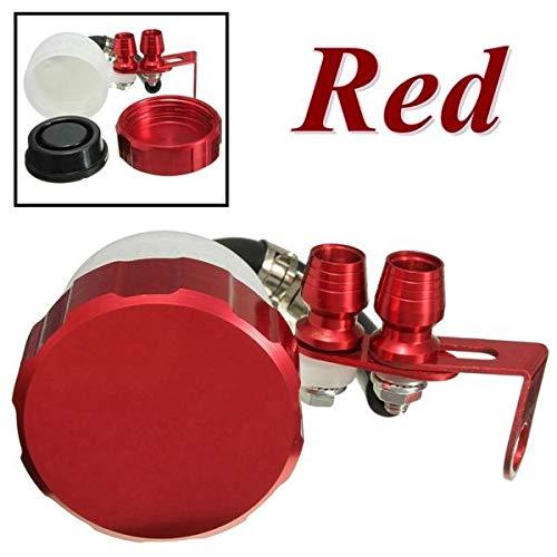 RENCALO Serbatoio Olio Serbatoio Anteriore Serbatoio Frizione Coppa Fluido Serbatoio per Motociclo Motocicletta- Red