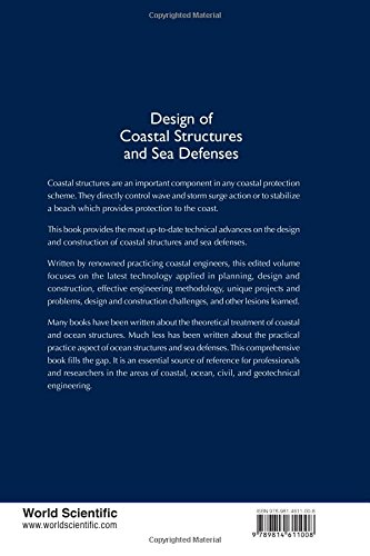 Design of Coastal Structures and Sea Defenses (Series On Coastal And Ocean Engineering Practice)