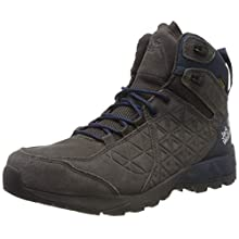 Jack Wolfskin Men's Cascade Hike Lt Texapore Mid M High Rise Shoes, (Dark Steel/Dark Blue 6054), 9.5 UK