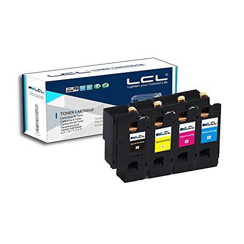 LCL 106R01630 106R01627 106R01628 106R01629 (4-Pack,Nero Ciano Magenta Giallo) Cartucce di Toner Compatibile Con XEROX Phaser 6000 6010 workcentre 6015