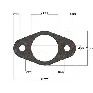 Auspuffdichtung oval - TGB-Acros Tec 50ccm