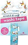 Paper House Productions - Nastro Washi da 15 mm con unicorno, color crema, profumato, per scrapbooking e scrapbooking