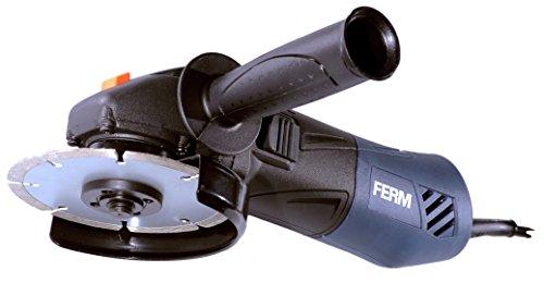 FERM Winkelschleifer 850W - 125mm - Mit Elektronische wiederanlaufschutz und verstellbare Seitengriff - Soft griff
