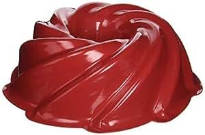 Nordicware 10-Cup Heritage Bundt Pan, Red N50222RD-1