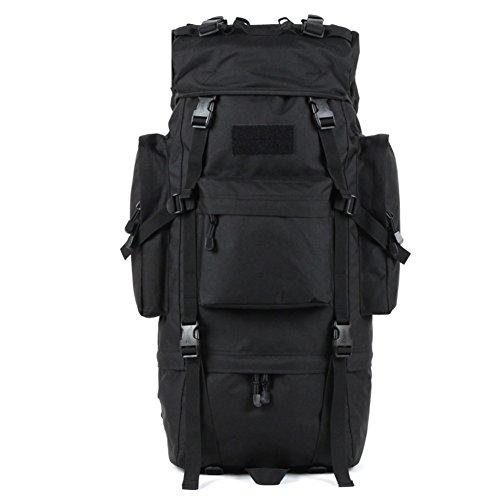 Im Freienberg Taschen/65LWasserdichte Reisetasche verstaut-schwarz 65L schwarz