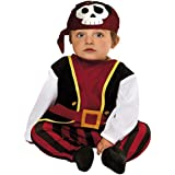 My Other Me - Disfraz de bebé pirata, 1-2 años (Viving Costumes 203277)
