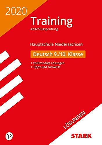 STARK Lösungen zu Training Abschlussprüfung Hauptschule 2020 - Deutsch 9./10. Klasse - Niedersachsen