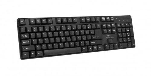 Media-Tech MT122KUS clavier QWERTY Noir PS/2