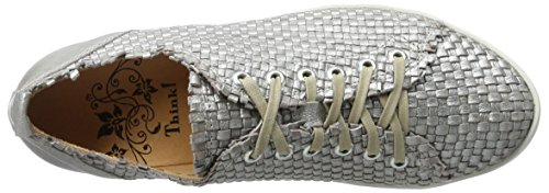 Think Seas, Scarpe Stringate Donna Argento (silber 04)