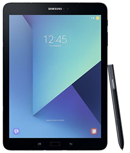 Price comparison product image Samsung SM-T825NZKABTU Galaxy Tab S3 9.7 Inch 4G Tablet, (Black), (Snapdragon 820 Processor, 4 GB RAM, 32 GB ROM, Android 7.0), UK Version