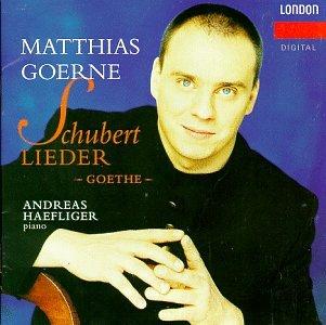Schubert;Lieder;Goethe