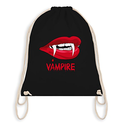 Halloween - Vampire Blut - Unisize - Schwarz - WM110 - Turnbeutel & Gym ()