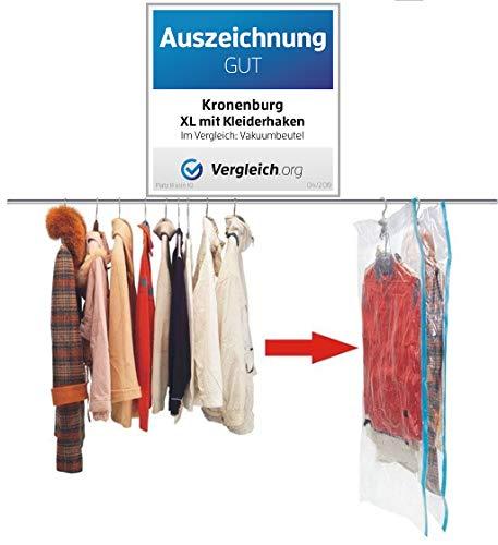 Kronenburg 6 tlg Set Vakuumbeutel - Aufbewahrungsbeutel 70 x 145 cm + 70 x 105 cm