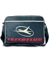 Interflug Bag – DDR Airline Retro Bag - Messenger Bag – Messenger - Sports  Bag – blue - Logoshirt Shoulder Bag… d0df9944f8745