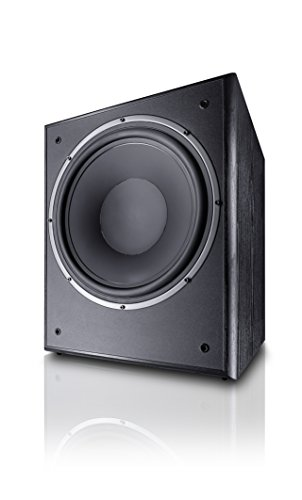 Magnat Monitor Supreme Sub 302A, Schwarz Audio Subwoofer Sub Box
