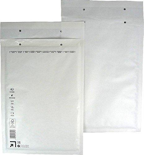 25 Luftpolsterumschlag Luftpolstertasche Versandtasche 7/G 250x350 mm