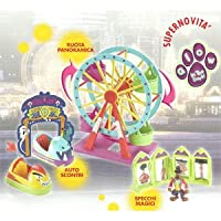 Scooby Doo Glow In The Dark Fairground Playset- Lunapark Infestato