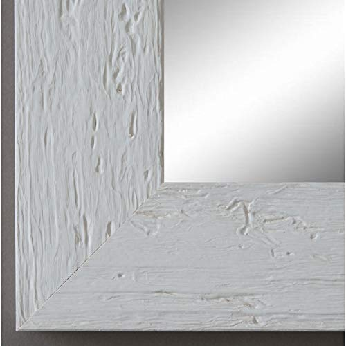 Online Galerie Bingold Spiegel Wandspiegel Badspiegel - Capri Weiß 5,8 - handgefertigt - 200 Größen zur Auswahl - Modern, Vintage, Shabby - 40 x 40 cm FM