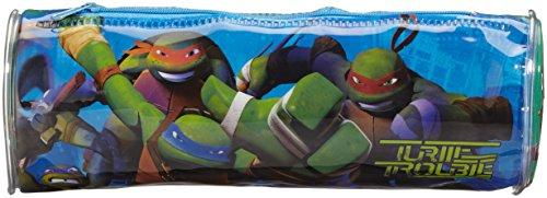 Atosa 15605–Estuche Ninja Turtles, 20x 7.5cm