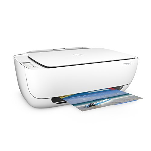 HP DeskJet 3639 Multifunktionsdrucker (Drucker, scannen, kopieren, WLAN, Airprint, Instant Ink Ready) weiß/blau