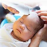 BABIFIS Cortadora de Cabello de bebé Aspiración automática Mudo Carga a Prueba de Agua Bebé Cabeza de Afeitado Cortadora de Pelo Generación de energía