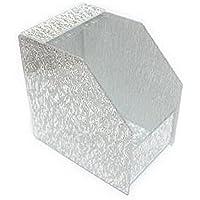 Schablonenhalter, Schablonenspender,EXTRABREIT. Silber geriffelt. preisvergleich bei billige-tabletten.eu