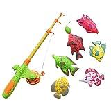 Zerama 7pcs / Set Kinder Magnetic Fishing Eltern-Kind-Interactive Spielzeug Outdoor Indoor Fun Game Fish Toy