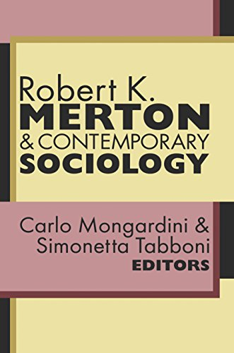 Como Descargar Libro Gratis Robert K. Merton and Contemporary Sociology Libro Patria PDF