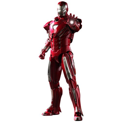 Iron Man 3 Silver Centurian Mark XXXIII (33) Hot Toys 1:6 Scale Figure