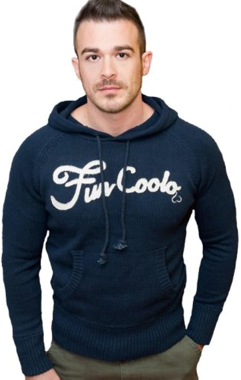 Fun Coolo Felpa con cappuccio, pullover, 100% cotone, MH3 blu blu blu navy XXL 79c1c8