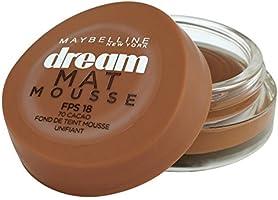 Gemey-Maybelline - Dream Mat Mousse - Fond de teint mousse  - 70 cacao