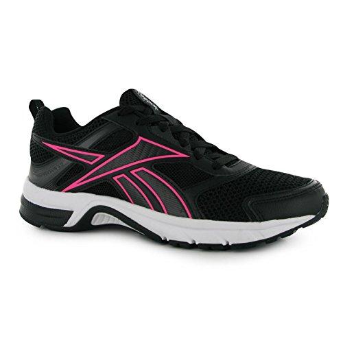 Reebok Femmes Pheehanrun 4 Chaussures Baskets A Lacets Sneakers Sport Running Black/pink