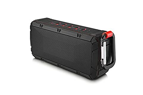 Torpech Bass TX-121 Fully Waterproof 10W IPX6 Lightweight Portable Premium Bluetooth Smart Speaker For Travel With Enhanced Booming Bass with FM Radio and Brilliant Sound Quality With 2200 mAH 10 Hour Battery and 33-FT Range